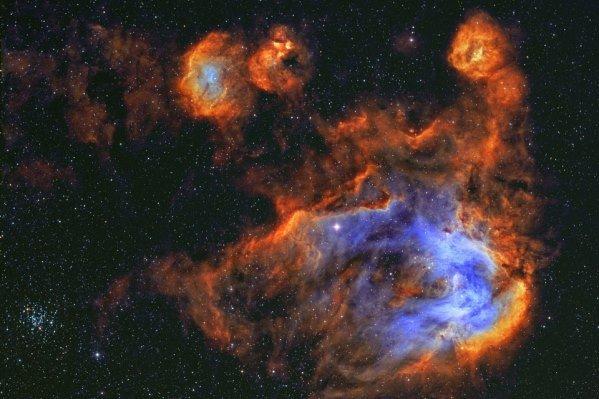 «سحابی جوجه» را در فضا مشاهده کنید