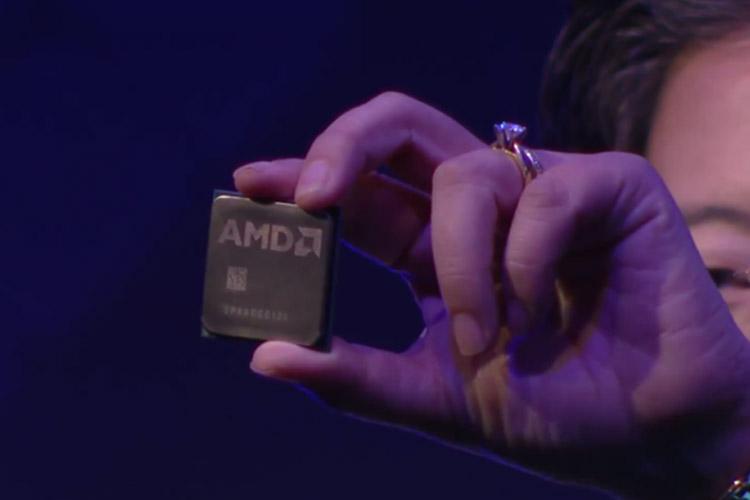 رونمایی AMD از پردازنده هشت هسته ای Zen
