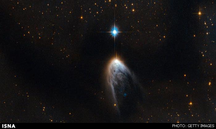 ثبت تولد یک ستاره توسط تلسکوپ هابل