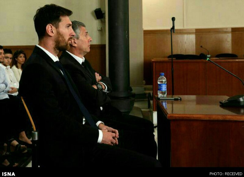 مسی در دادگاه چه گفت؟ (+عکس)