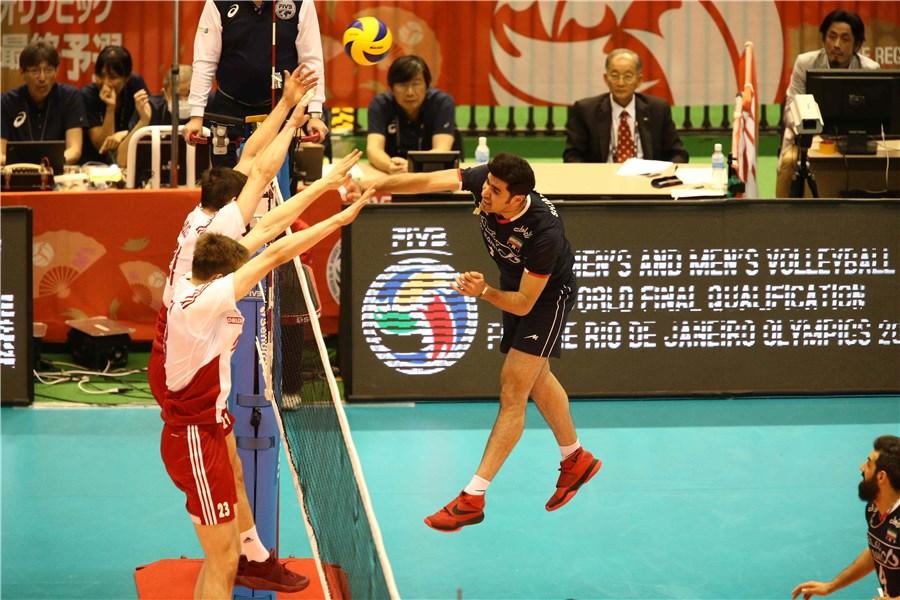 والیبال ایران المپیکی شد