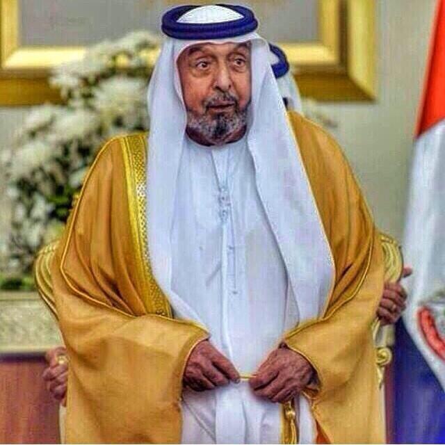 رئیس دولت امارات کجا رفت؟