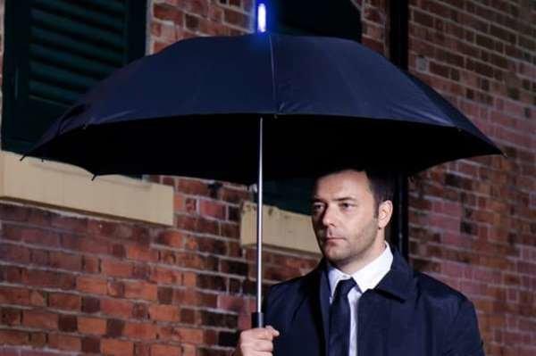 چتر هوشمند برای اعلام زمان بارندگی ساخته شد
