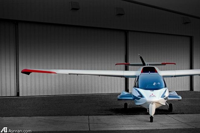 هواپیمایی که می توانید آن را کنار خانه خود پارک کنید!