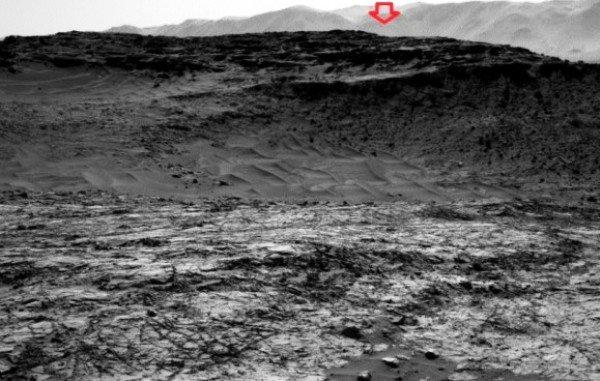 شکار بیگانه فضایی در تصویر «کنجکاوی» از مریخ