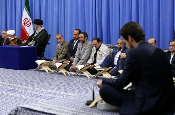 برگزاری محفل انس با قرآن کریم با حضور مقام معظم رهبری