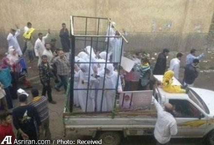 سوزاندن زنده 19 زن به خاطر عدم ارتباط جنسی با اعضای داعش (+عکس)