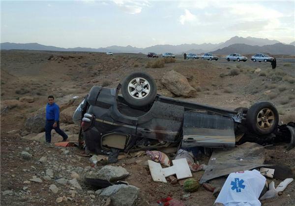 3 کشته در واژگونی پرادو در اصفهان