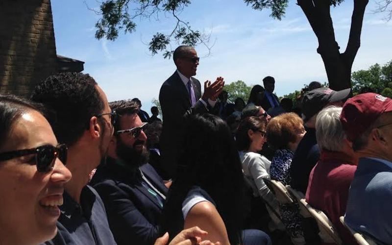 میشل اوباما همسر باراک اوباما رییس جمهور آمریکا