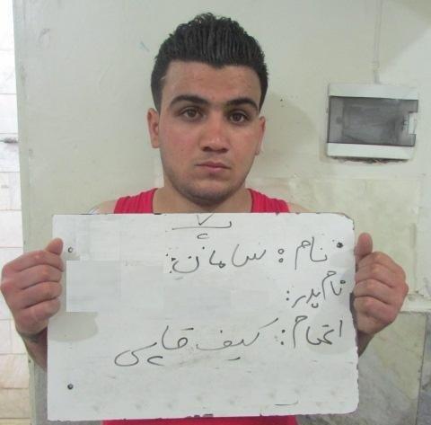 دستگیری موبایلقاپ 19 ساله در بازار تهران (+عکس)