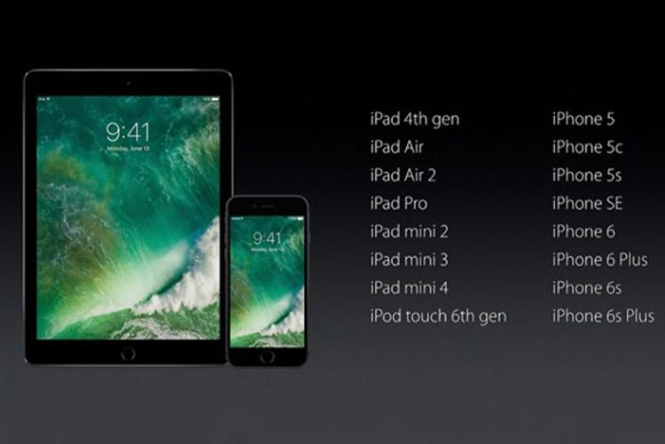 چه دستگاه هایی از iOS 10 پشتیبانی می کنند؟
