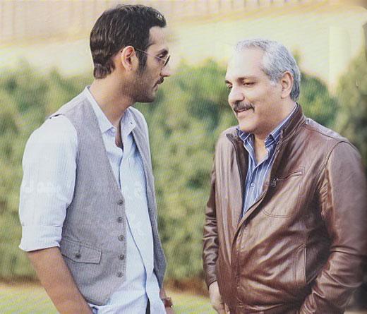 مهران مديری و پسرش فرهاد در کنار هم (+ عکس)