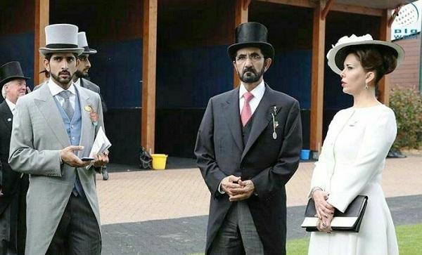 تصویر عجیب از حاکم دبی و همسرش (+ عکس)