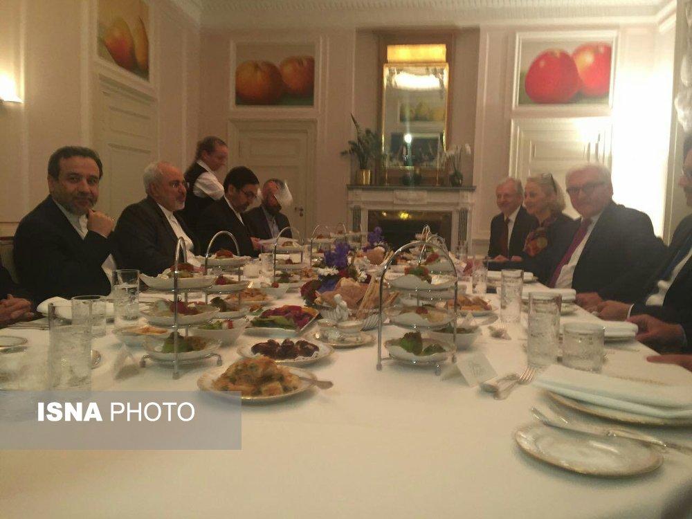 افطاری وزیر خارجه آلمان برای ظریف (+عکس)