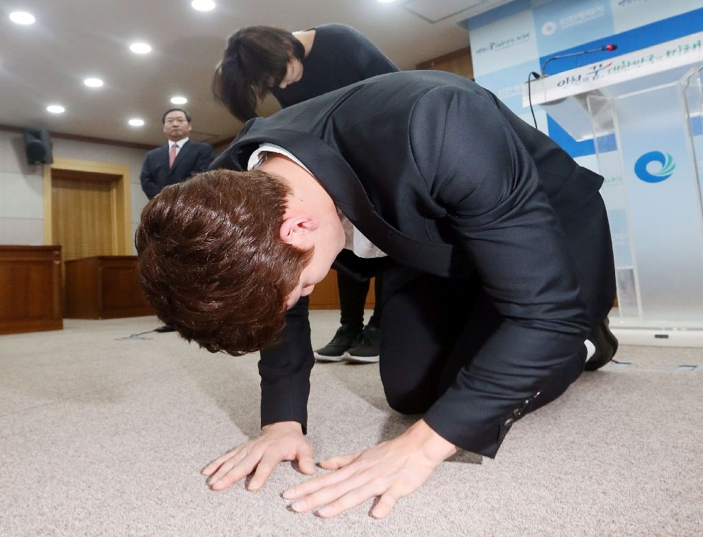 عذرخواهی از دوپینگ به شیوه کره ای (+عکس)