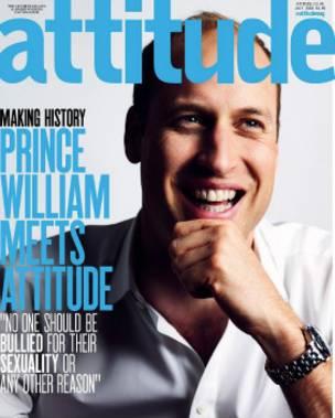 نوه ملکه انگلیس روی جلد مجله همجنسگرایان (+عکس)