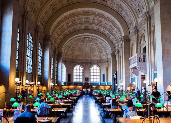 15 کتابخانه حیرتانگیز در آمریکا (+عکس)