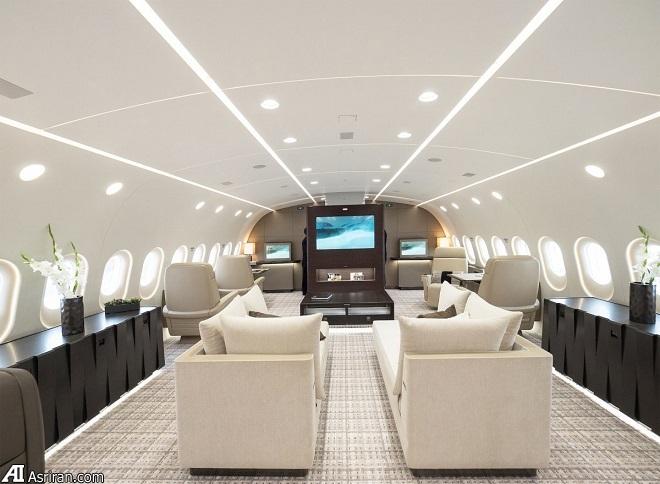 جت خصوصی جدید بوئینگ؛ خانهای لوکس که پرواز می کند!
