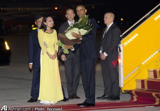 سفر اوباما به ویتنام (عکس)