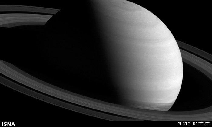 تصویر فوقالعاده فضاپیمای کاسینی از زحل