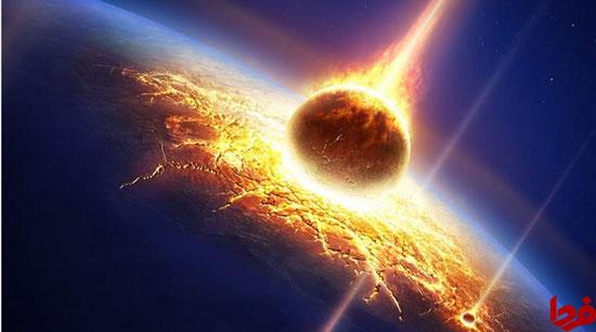 سیارک غولپیکر که به استرالیا برخورد کرد