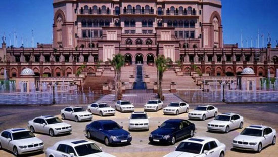 خودروهای اسرار آمیز سلطان برونئی (+عکس)
