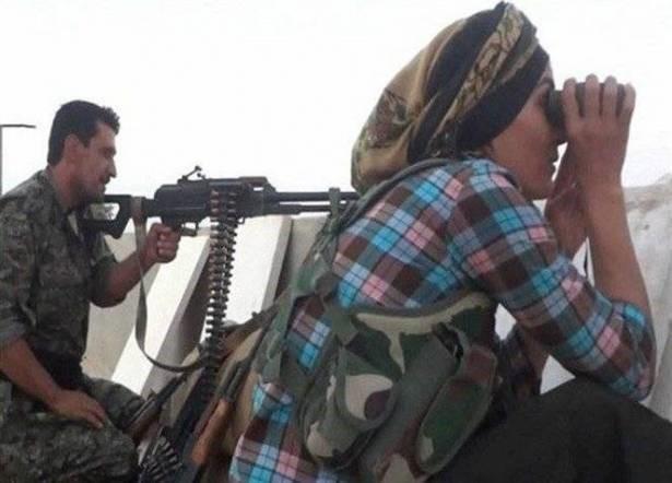زن شجاعی که فرماندۀ جنگ با داعش است (+ عکس)