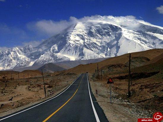 شگفت انگیزترین جاده های جهان (عکس)