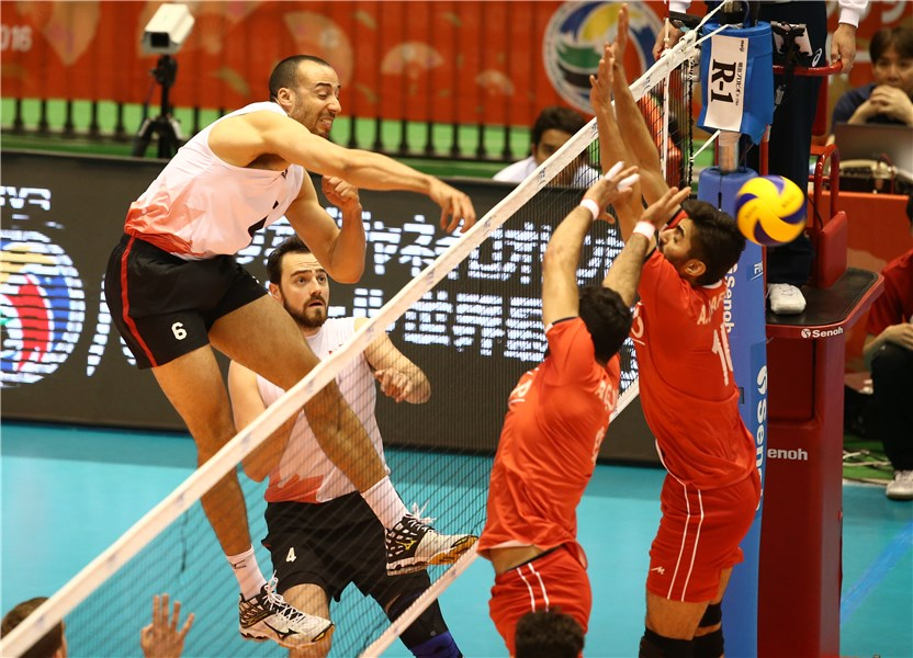 ایران 1 - 3 کانادا / شکست ایران در بازی دوم