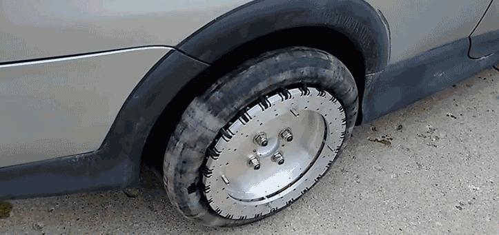 چرخ های جادویی خودرو با حرکت 360 درجه (+عکس و فیلم)