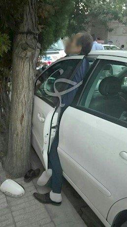 مرگ دردناک مرد مشهدی به خاطر متوقف کردن خودرو (+عکس)