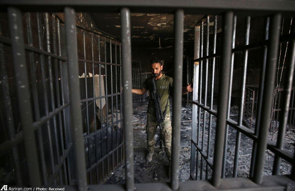 زندان داعش در فلوجه (+عکس)