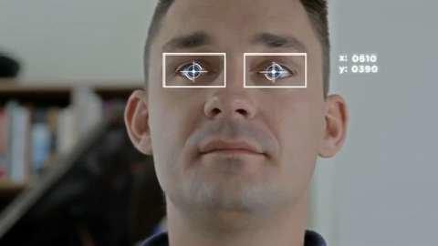 کنترل گوشی هوشمند با اشاره چشم!