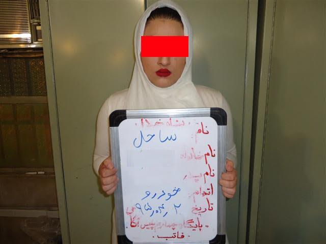 دستگیری 2 دختر سارق خودروهای مدل بالا (+عکس)