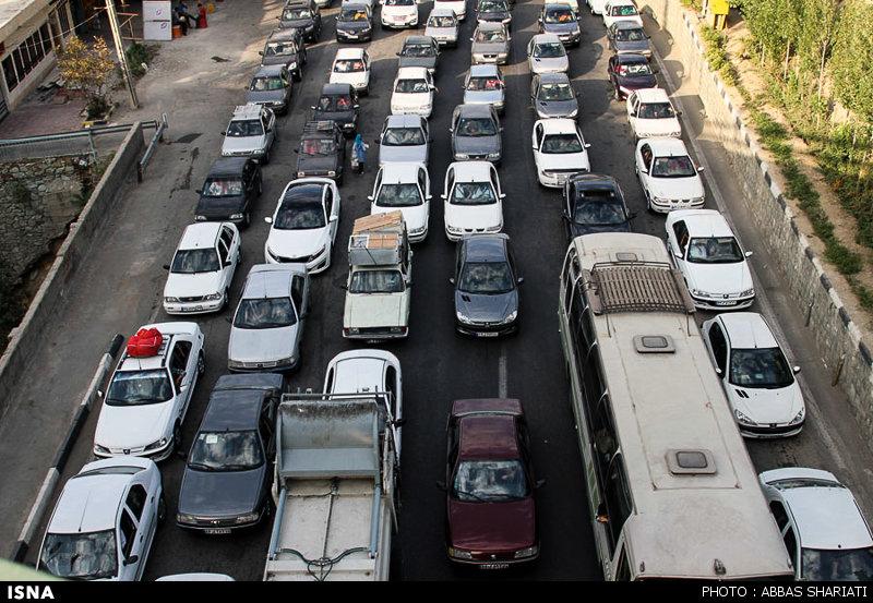ترافیک سنگین در محور «کرج – چالوس»