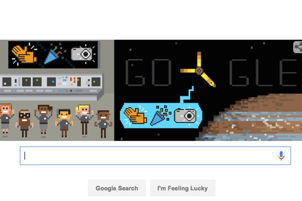 لوگوی جدید گوگل به مناسبت ورود