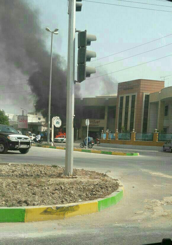 درگیری پلس و قاچاقچیان در بوشهر (+عکس)