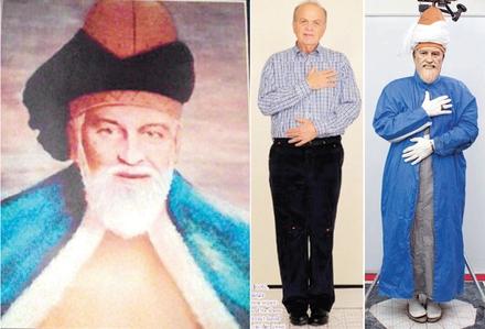 نسخه جدید ترکیه ای ها برای شمایل مولانا (+عکس)