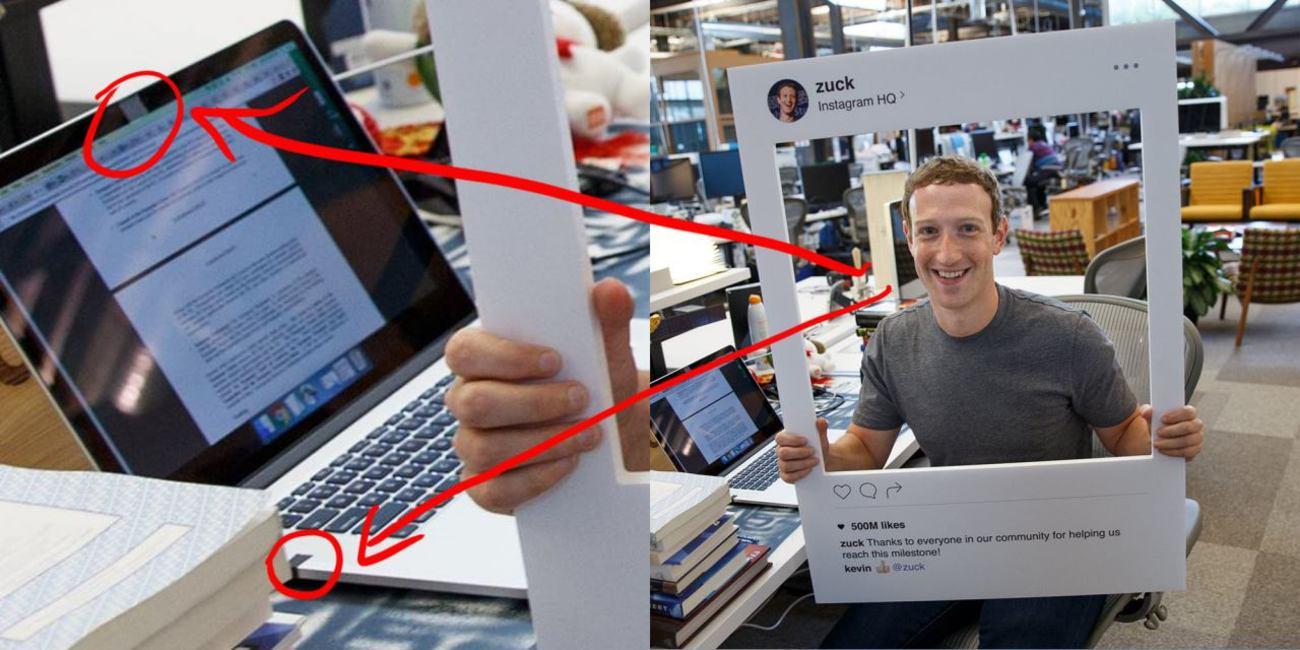 زاکربرگ هم وب کم لپ تاپ خود را با چسب میپوشاند (+عکس)