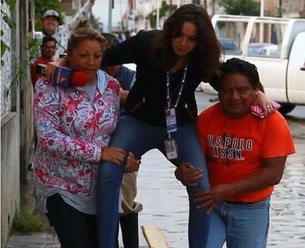 عکسی که منجر به اخراج یک خبرنگار از تلویزیون مکزیک شد (+عکس)