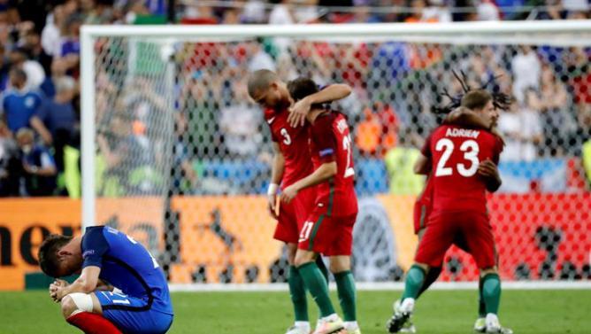 پرتغال 1 - 0 فرانسه / تیم ملی پرتغال قهرمان یورو شد