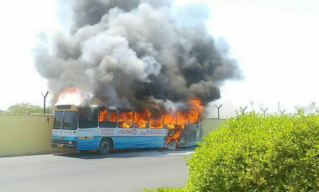 خطر از بیخ گوش مسافران بوشهری گذشت (+عکس)