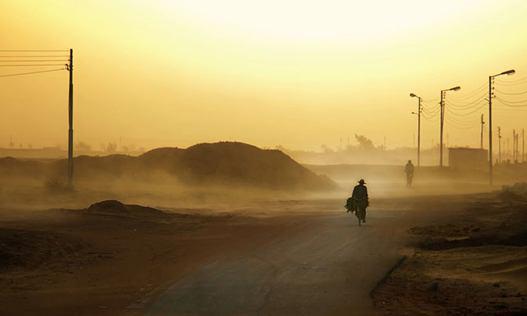 آلودگی هوای سیستان وبلوچستان (عکس)
