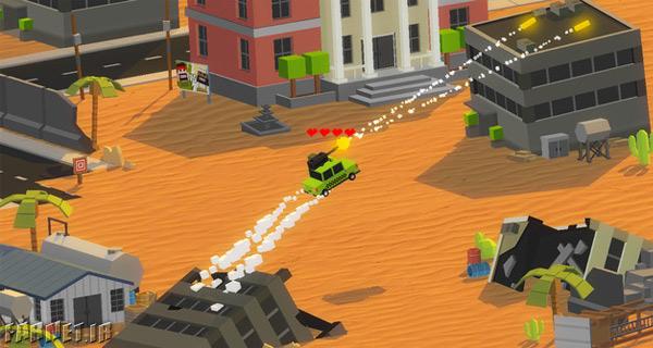 CarsBattle؛ جنگ ماشینها در آخرالزمان!