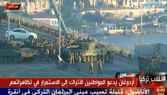 کودتای ترکیه در آستانه شکست / حمله جنگنده ها به کاخ ریاست جمهوری / سخنرانی اردوغان در استانبول / 60 کشته در کودتا