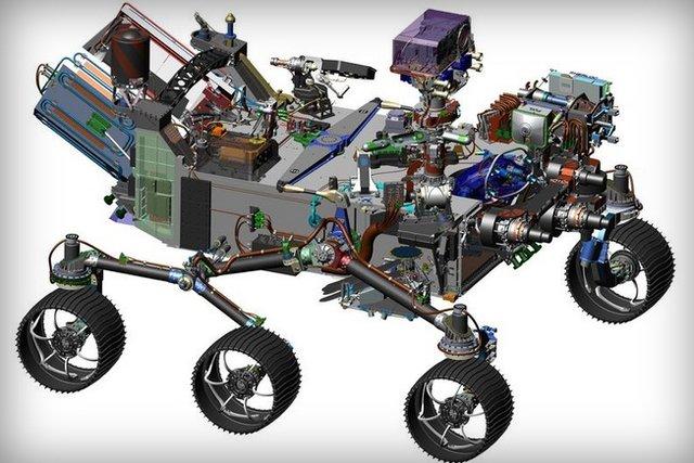 مریخ نورد جدید ناسا معرفی شد