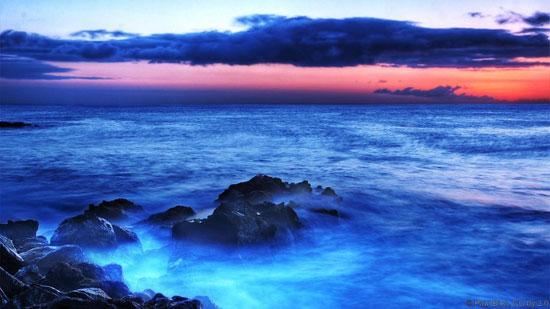 آیا دریا واقعا آبی رنگ است؟