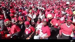 تظاهرات زنان خشمگین با ملاقه و قابلمه در زیمباوه (+عکس)
