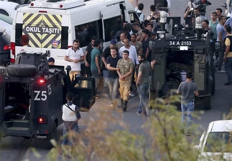 بازداشت 6 هزار نفر بعد از کودتای ترکیه