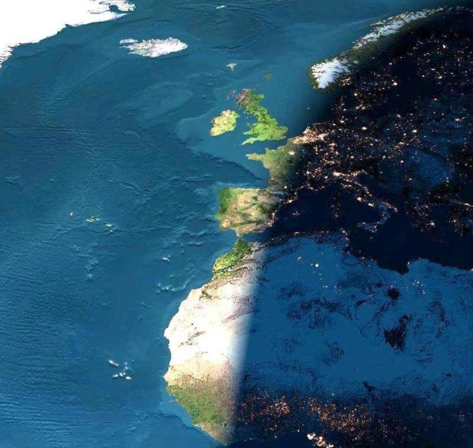 تصویر ناسا از مرز بین شب و روز (+ عکس)